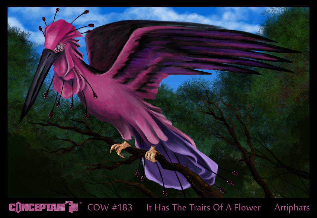 C.O.W. #183_It Has The Traits Of A Flower_Voting!